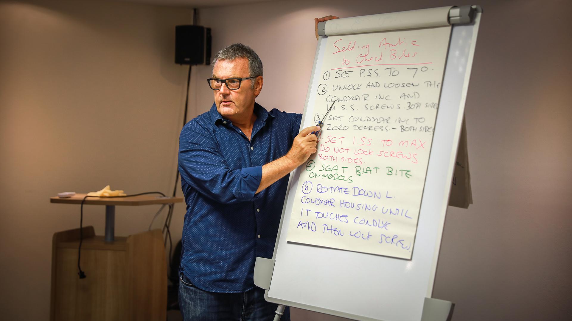 Professor Paul Tipton RCS Accreditation